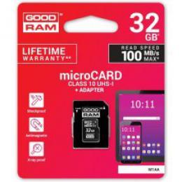 Pam�ov� karta Goodram micro SDHC 32GB Class 10 UHS-1