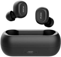 Bezdrátová sluchátka Bluetooth Black QCY T1C TWS