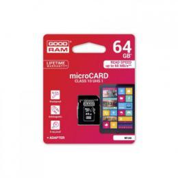 Pam�ov� karta GOODRAM micro SDXC 64GB Class 10 UHS-1 - zv�t�it obr�zek