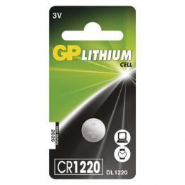 Lithiová knoflíková baterie GP CR1220, 3V, B15201