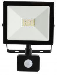 LED reflektor s pohybovým èidlem TOMI SMD 20W, 6000-6500K, 1900lm, IP44, Greenlux GXLR019