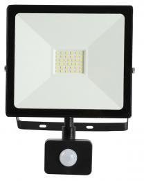 LED reflektor s pohybovým èidlem TOMI SMD 30W, 6000-6500K, 2700lm, IP44, Greenlux GXLR020