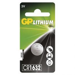 Lithiová knoflíková baterie GP CR1632, blistr 1 ks, B15951