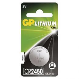 Lithiová knoflíková baterie GP CR2450, 1 ks blistr, B15851