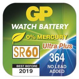 Knoflíková baterie do hodinek GP 364F, blistr 1 kus, B3364F