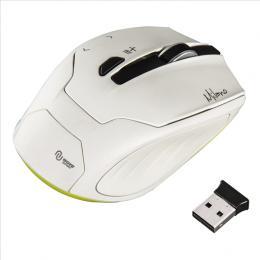 Optická bezdrátová myš Hama Milano, bílá, 53945
