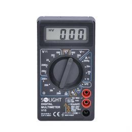 Multimetr, max. AC 500V, max. DC 500V / 10A, test diody, bzuèák, Solight V15