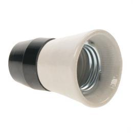 Objímka na žárovku E27 keramika/plast 1332-146, Solight 5F54