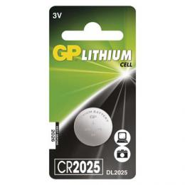 Lithiová knoflíková baterie GP CR2025, B15251