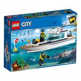 Potápìèská jachta LEGO City 60221