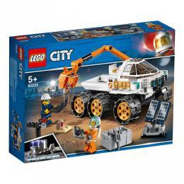 Testovací jízda kosmického vozítka LEGO City 60225