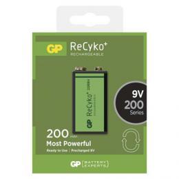Nabíjecí baterie GP ReCyko+ 200 (9V) B0852