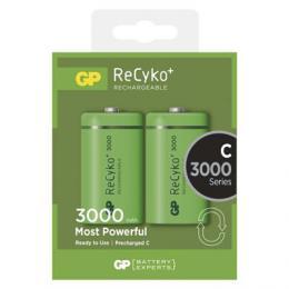 Nabíjecí baterie GP ReCyko+ 3000 (C) malé monoèlánky 2 ks B0832