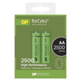 Nabíjecí baterie GP ReCyko+ 2500 (AA) 2ks B1405