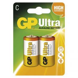 Alkalická baterie GP Ultra LR14 (C) malé monoèlánky 2ks B1931