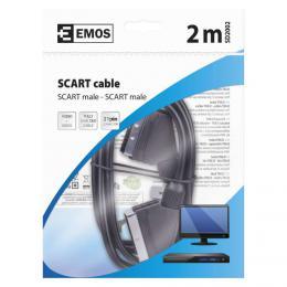 AV kabel SCART - SCART 2m EMOS SD2002