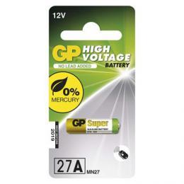 Alkalická speciální baterie GP 27AF (MN27, V27GA) 12 V, 1 ks blistr