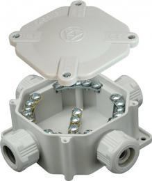 Krabice Acidur 16 6455-11 P/S CZ IP67 plast. šedá SEZ