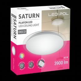 LED stropní svítidlo ORO-SATURN-60W-DIM, 60W, 3000/4000/6500K, 3900lm, dálkový ovladaè