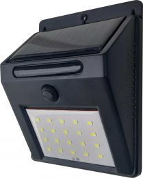 LED nástìnné solární svítidlo s vypínaèem EMA SOLAR 20LED NW, 4000K, 120lm, IP44, Greenlux GXSO001