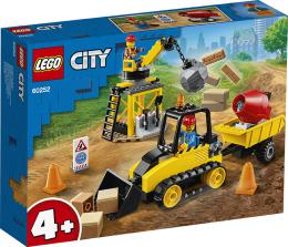 Buldozer na staveništi LEGO CITY 60252