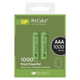 Nabíjecí baterie GP ReCyko+ 1000 (AAA) HR03 2ks B1411