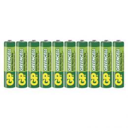 Zinková baterie GP Greencell AAA (R03) balení 10 ks B1210K