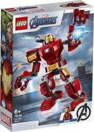 Iron Manùv robot LEGO AVENGERS 76140