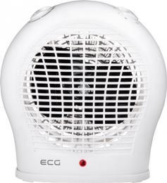 Teplovzdušný ventilátor ECG TV 30 White, pøíkon 1000/2000 W