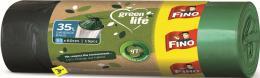 Pytel na odpadky 35l / 15ks zatahovací recyklované Green life FINO