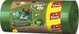 Pytel na odpadky 60 l / 18 ks Easy pack Green life FINO