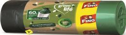 Pytel na odpadky 60l / 10ks zatahovací recyklované Green life FINO