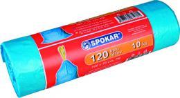 Pytel na odpadky zatahovací 120l / 10ks SPOKAR - zvìtšit obrázek
