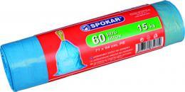 Pytel na odpadky zatahovací 60l / 15ks SPOKAR