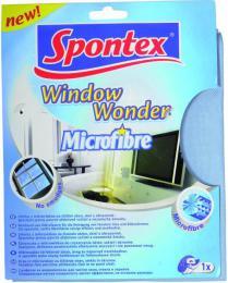 Utìrka na sklo mikrovlákno Spontex Window Wonder