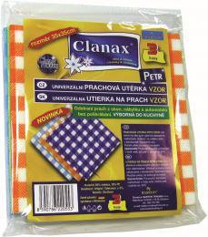 Utìrka prachová 3 ks 35x35 cm vzor Petr Clanax
