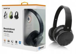 Bluetooth sluchátka ALIGATOR AH02, FM, SD karta, èerná