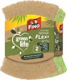 Houbièka na nádobí 2ks flexi Green life Fino recyklovaná