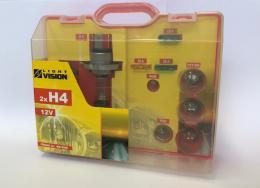 Servisní kuføík žárovek a pojistek UNI 2x H4 12V