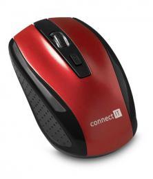 Bezdrátová myš CONNECT IT CI-1224 èervená