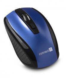 Bezdrátová myš CONNECT IT CI-1225 modrá