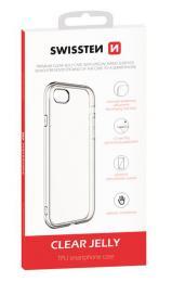 Pouzdro Swissten Clear Jelly Apple iPhone 7/8/SE 2020 transparentní 32801713