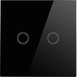 Smart dvoukanálový spínaè WiFi 2SWITCH Black Greenlux GXSH043 - zvìtšit obrázek