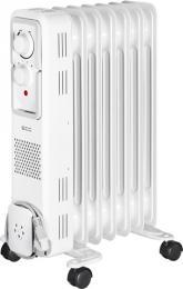 Olejový radiátor ECG OR 1570, 500/1000/1500 W, termostat