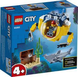 Oceánská mini ponorka LEGO CITY 60263