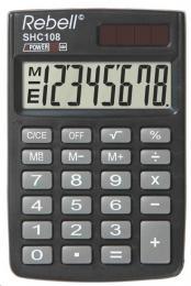 Kalkulaèka Rebell RE-SHC108 BX, èerná