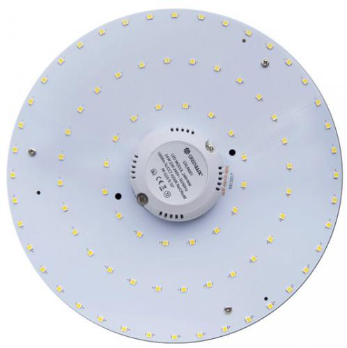 LED magnetický LED MODUL 24W-WW, 3000K, 2500lm, Greenlux GXLM004