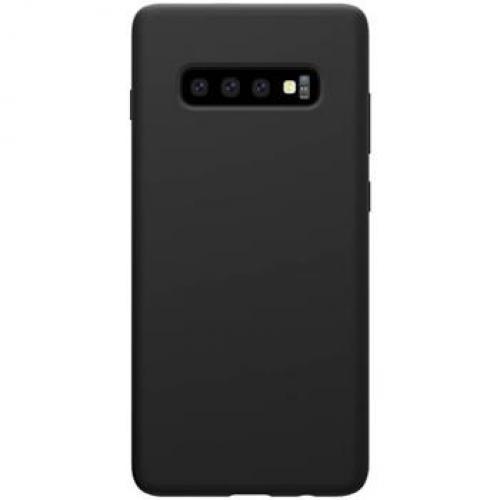 Nillkin Flex Pure Liquid Silikonové Pouzdro Black pro Samsung Galaxy S10 (6902048171909)