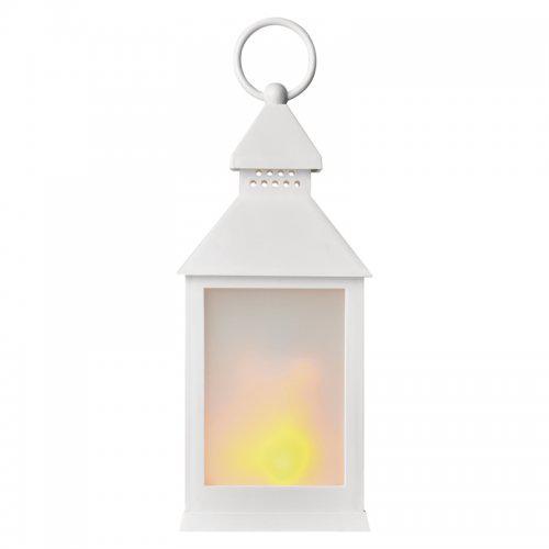 LED dekorace – lucerna mléèná, 3x AAA, bílá, vintage, EMOS ZY2346 - zvìtšit obrázek