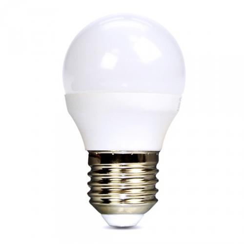 LED žárovka, miniglobe, 6W, E27, 6000K, 450lm, Solight WZ419